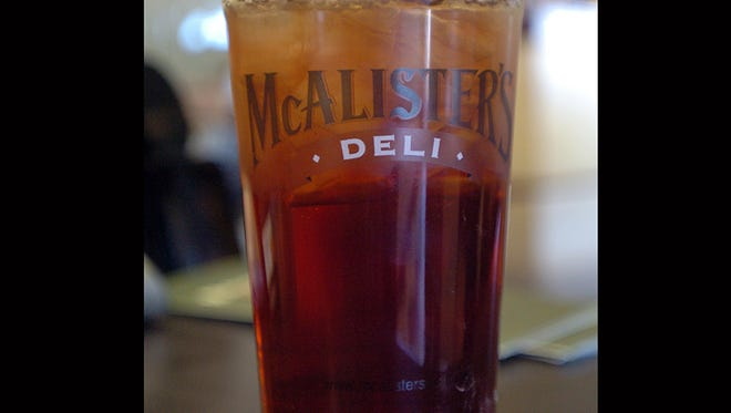 The McAllister's Deli restaurant chain is known for it's sweet tea.