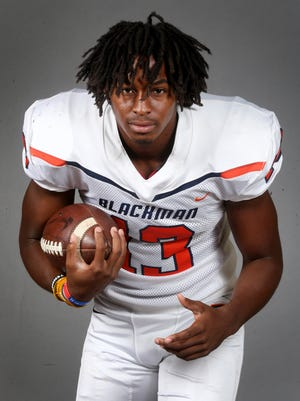 Ohio State tops the list of the top six college choices for Blackman senior Trey Knox.