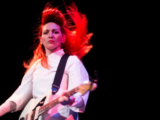 My Brightest Diamond performs at the Bijou Theatre during the Big Ears Festival on March 23, 2017. The band will return to Knoxville in May for the Rhythm N' Blooms 2019 music festival.