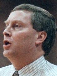 David Plotts in 1999 when he returned to coach Santiam's