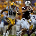 LSU and South Carolina will play at 2:30 on Saturday in Baton Rouge.
