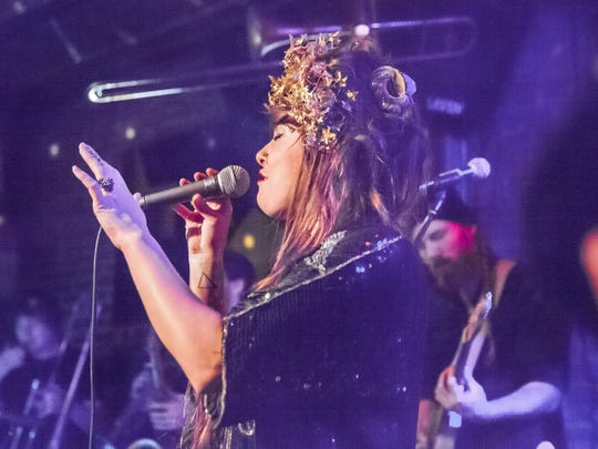 Kat Wright & the Indomitable Soul Band plays Saturday at the Grand Point North festival.