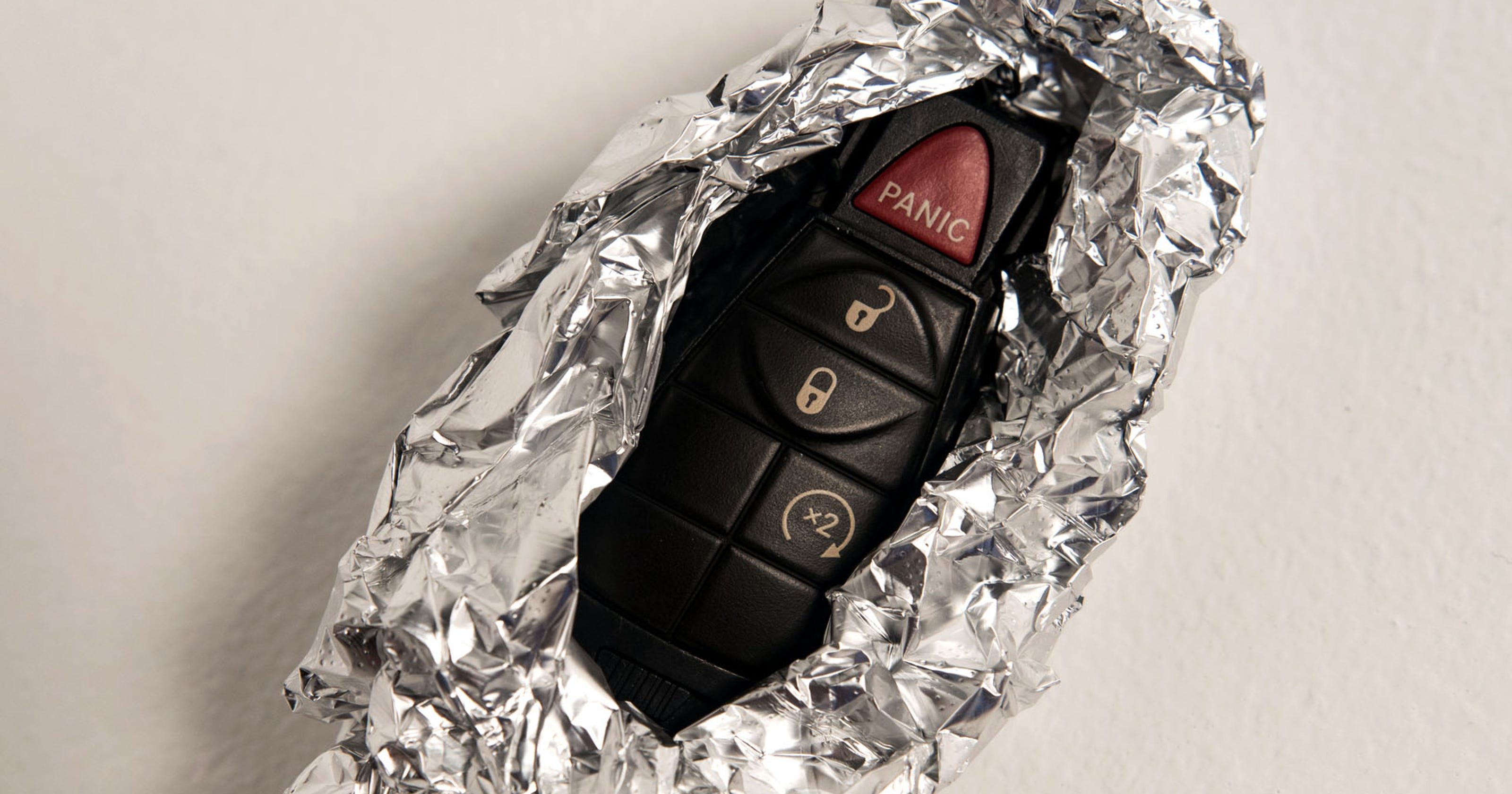why you should wrap your car fob in foil