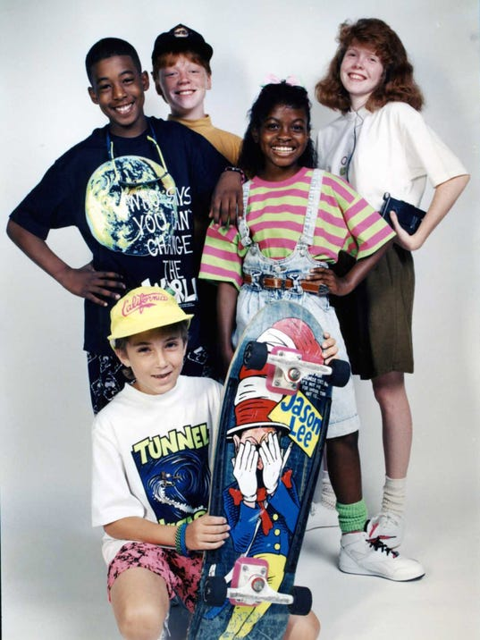 vintage clothes kids fashion from the 80s and 90s