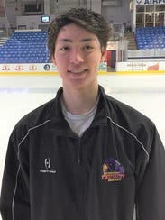 Northville's John Larkin has moved up to the USHL after