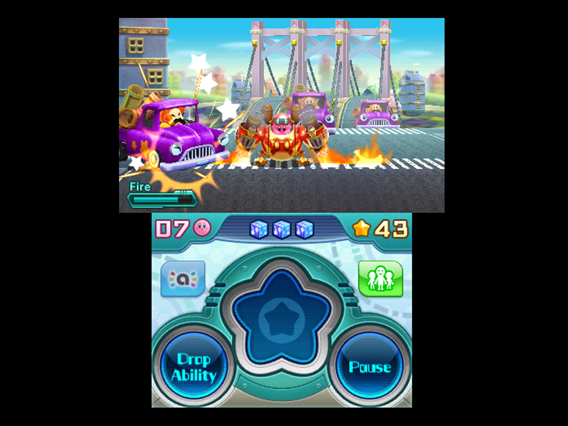 Kirby Planet Robobot adds sections where Kirby can use his new hulking Robobot Armor.