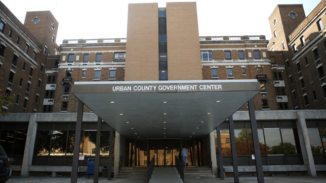 The Urban County Government Center is being vacated by metro government employees due to decrepit conditions including mold. Oct. 2, 2014