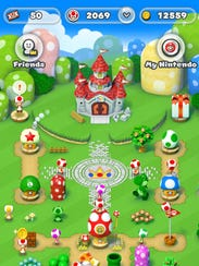 A screenshot of the Kingdom Builder in 'Super Mario