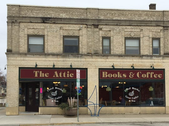 The Attic Books & Coffee in Green Bay is a charming little spot for coffee lovers who also love books.