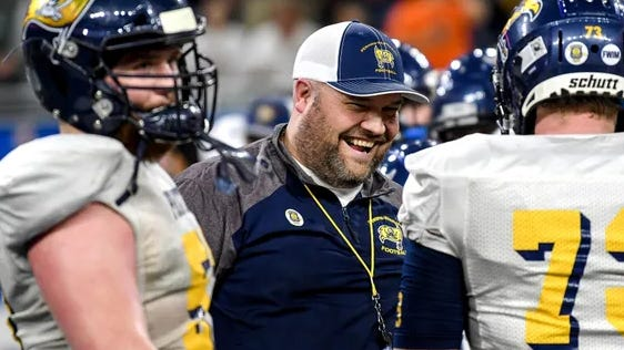 Pewamo-Westphalia's Jeremy Miller was named regional coach of the year. [Nick King/Lansing State Journal/