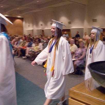Ladywood High School's 2011 graduating class enters