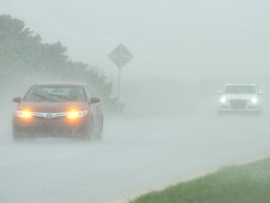 Q Amy Should You Use Hazard Lights In The Rain