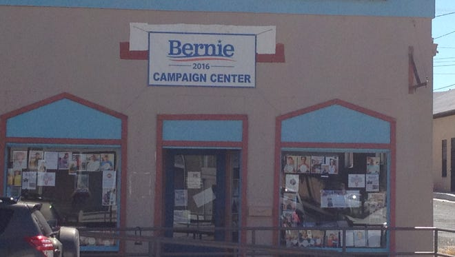 Bernie Sanders Campaign Center in Silver City will host a grand opening at noon on Saturday.