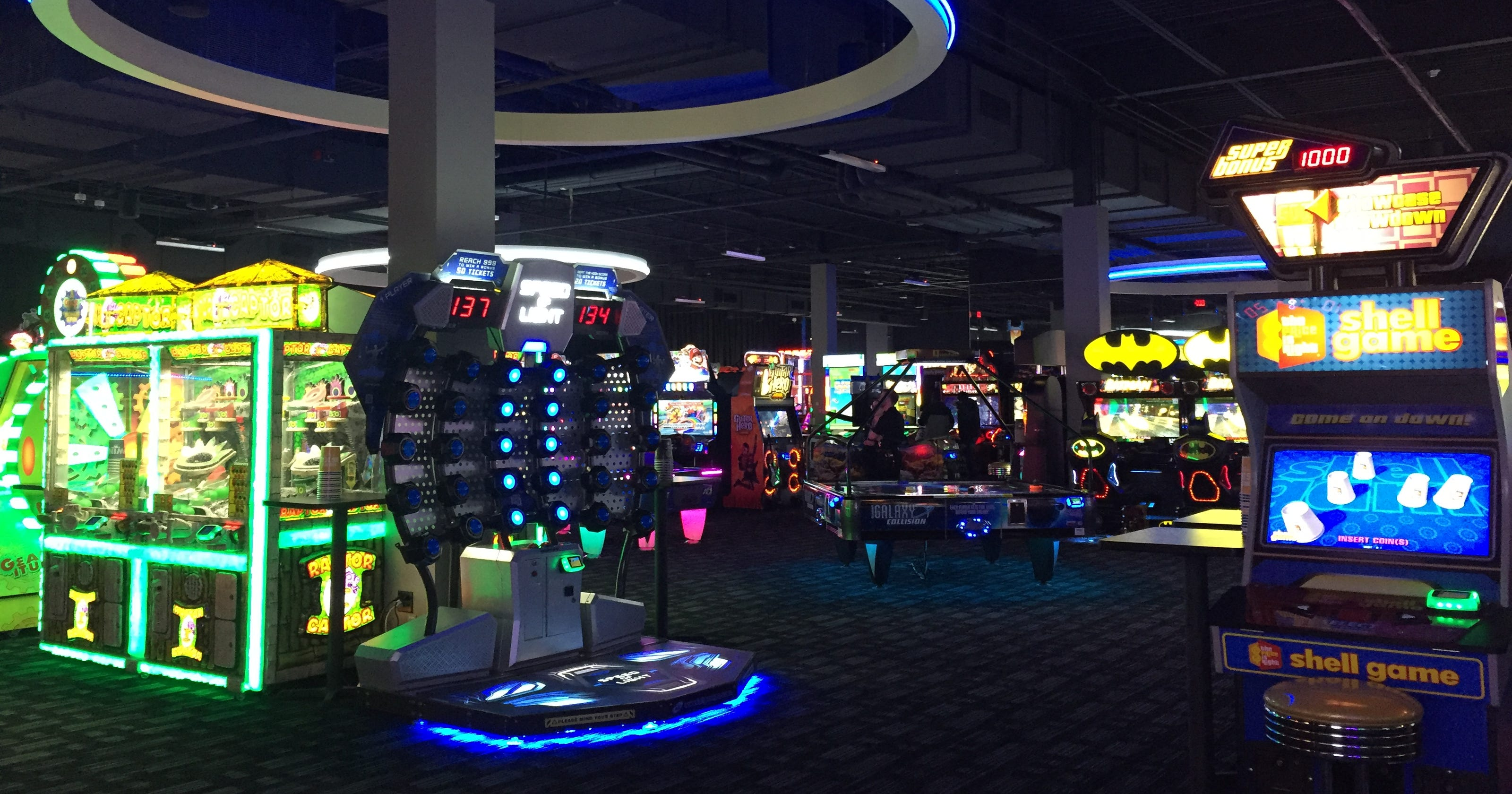 Dave & Buster's opens at Marketplace Mall