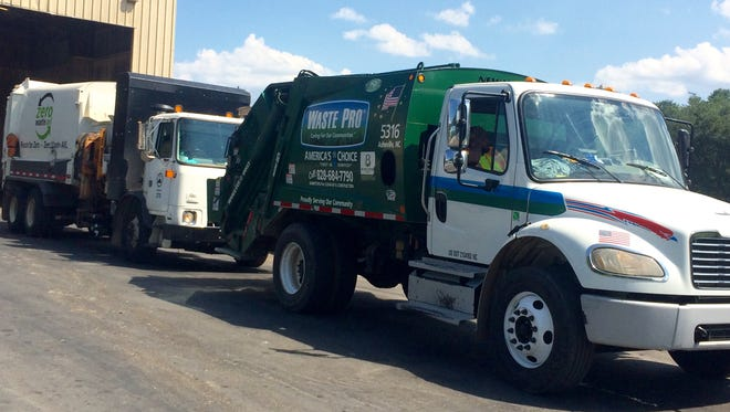 Complaints about garbage hauler Waste Pro have dropped dramatically since peaking in 2015. A recent complaint was caused by the temporary closure of a transfer station.