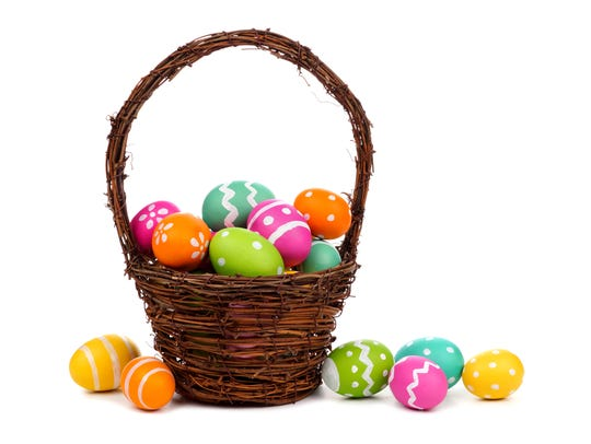 There will be a lot of Easter egg hunts this weekend