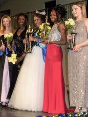 Pictured from the left are Chey Bramblett, Jayla Hutison,