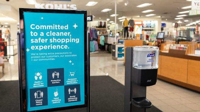 Kohl's says it has made enhancements to the store environment and operations to provide a safe and healthy environment for everyone