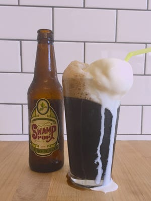 Pop's Poboys is offering a special root beer float made from Carpe Diem! gelato and Swamp Pop root beer for National Root Beer Float Day.
