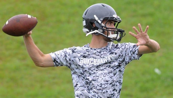 North Buncombe quarterback Chase Parker
