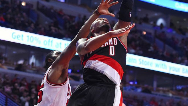 Damian Lillard (0) and the Trail Blazers have won 16 of their last 20.