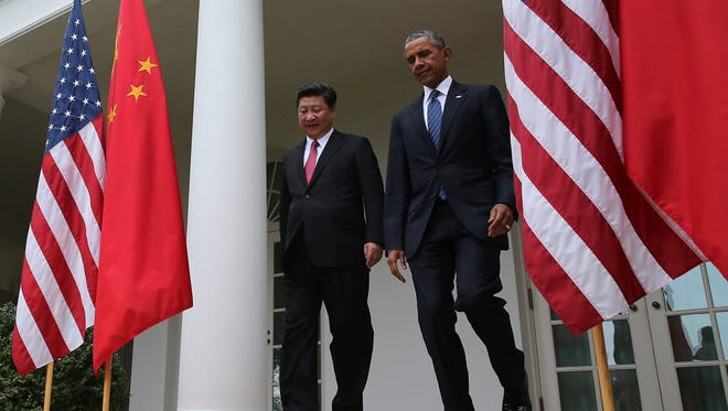 President Obama and Chinese President Xi Jinping in Washington on Sept. 25, 2015.