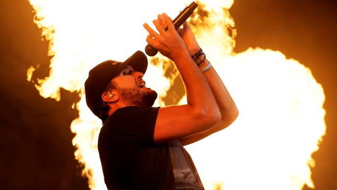 Luke Bryan was one of the headliners at the Country Thunder Music Festival.
