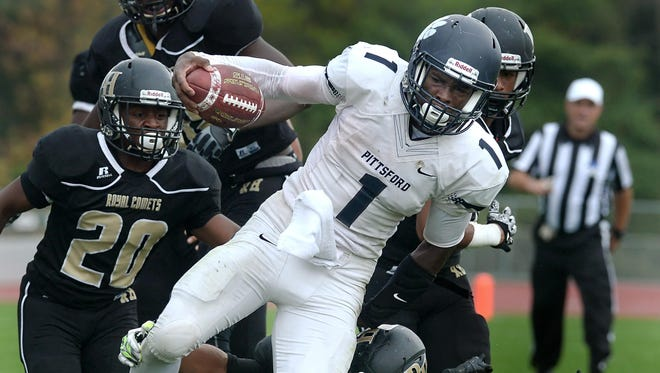 Pittsford's Josh Mack ran for 1,245 yards with 25 touchdowns in 2015.