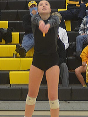 Newton senior Asha Regier was named a first-team Class 5A All-State selection by the Kansas Volleyball Association.