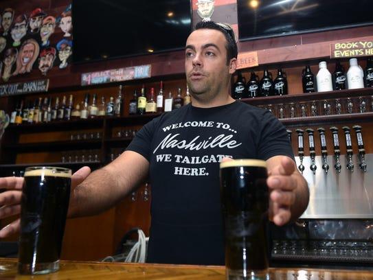 Wesley Keegan, owner Tailgate Beer Brewery, talks about