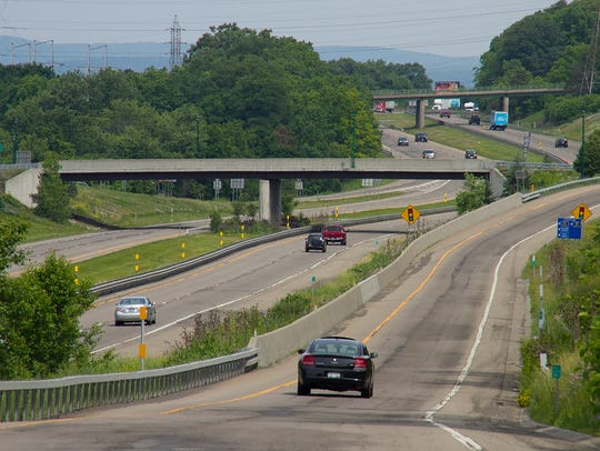 Resurfacing and repair work on Interstate 86 from Exit