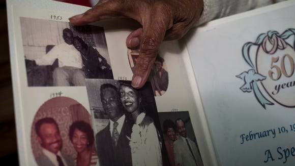 Jean Williams and her husband, Davis Williams, have