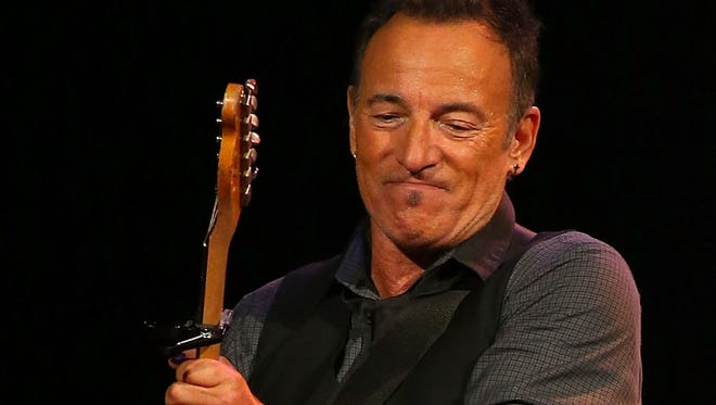 Bruce Springsteen performs live for fans at Perth Arena on Feb. 5, 2014, in Perth, Australia.