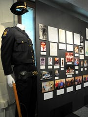 The Montreat Police Department's first uniform is one of the historical artifacts in the Presbyterian Heritage Center's exhibition of the town of Montreat's 50th anniversary.
