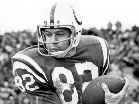 Raymond Berry held every Colts receiving record until