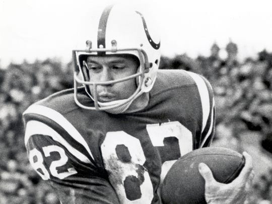 Raymond Berry held every Colts receiving record until Marvin Harrison came along.