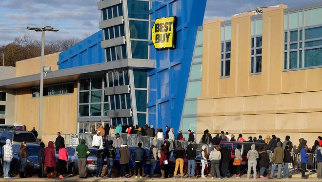 """Best Buy is just one of many retailers which served as """"anchor stores"""" for an explosion of commercial building in Arkansas."""