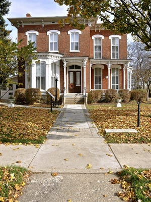 This Italianate house built in the 1860s for Chicago businessman Asa Dow now houses the Ypsilanti Historical Museum.