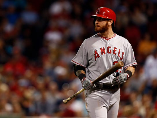 Since joing the Angels in 2013, Josh Hamilton has hit