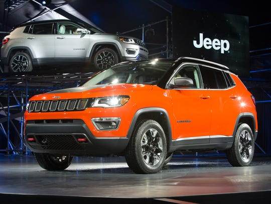 The 2017 Jeep Compass.