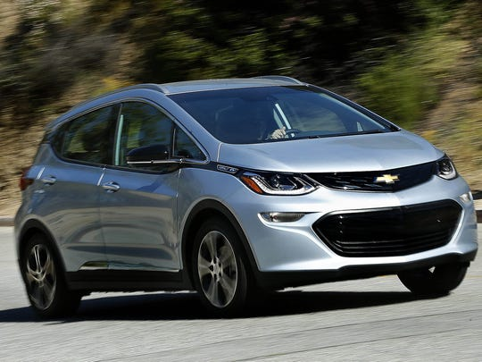 The 2017 Chevrolet Bolt was GM's most reliable model