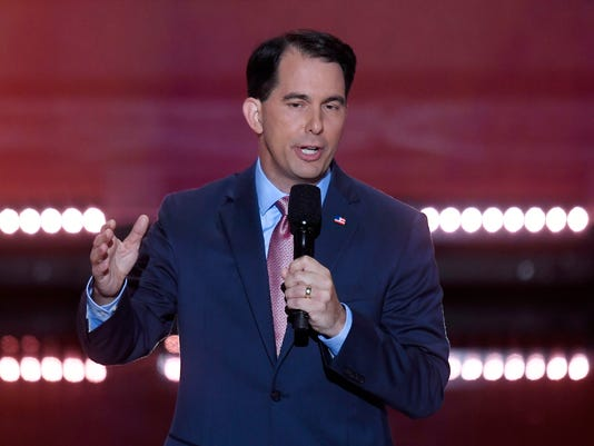 Wisconsin governor heads to DC as Trump prepares for Foxconn plant announcement