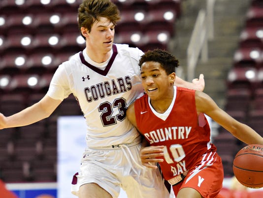 York Country Day vs Lancaster Country Day boys' D-3, Class 1-A hoops championship