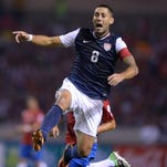 """""""I think we have the quality, if we play our best ball, to get out of the group,"""" U.S. captain Clint Dempsey said after Friday's World Cup draw."""