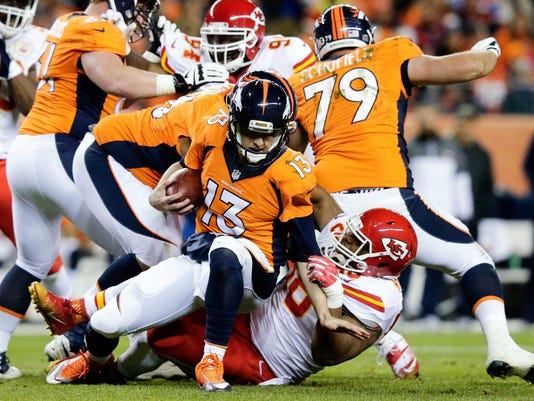 NFL: Kansas City Chiefs at Denver Broncos