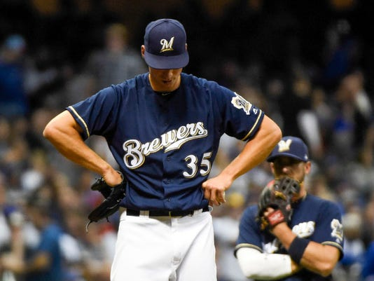 Brewers lack a lefty