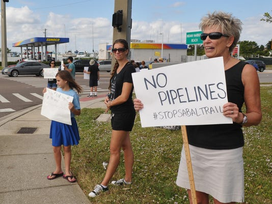 Brevard protest for Standing Rock