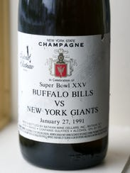 """This """"New York Champagne"""" that commemorated Super Bowl"""