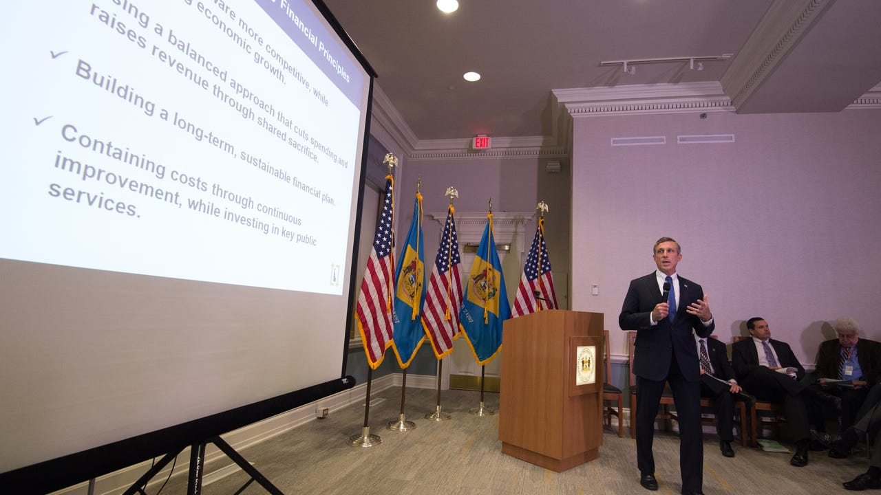 Governor John Carney unveils his budget proposal.