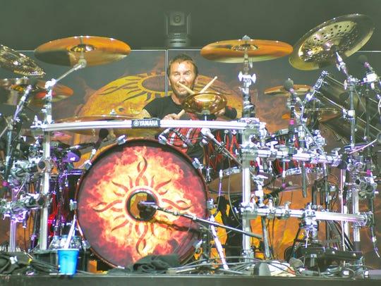 Godsmack drummer Shannon Larkin